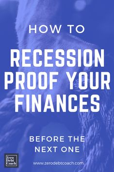 "If you've been putting off addressing your financial situation until now, this is an encouragement to get started. You could actually put yourself in an amazing position to acquire a lot of things at a ""discount"" when the next recession rolls around. And trust me, the business cycle is cyclical, so it WILL come around. So, let's get you started now!"