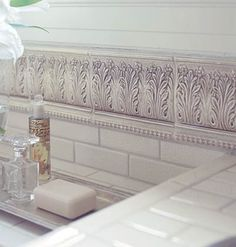 Old-world embellishments via MyHomeIdeas.com. #homeremodelingtrends #castlepainting