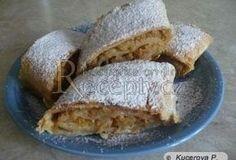 Těsto na štrůdl - velice jednoduché Czech Recipes, Strudel, Sweet Cakes, French Toast, Food And Drink, Pie, Gluten Free, Cupcakes, Bread