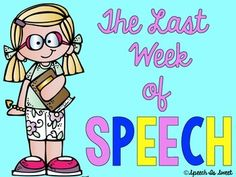 Looking for end of the year activities? This packet has everything you need to survive the last week of speech! It is designed for speech and language therapy and is perfect to use before summer break! Contents:1) Memory book activities: 5 NO PREP pages designed for students to reflect on their year in speech therapy! (ex.