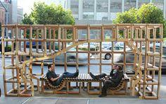 Parklet Bamboo
