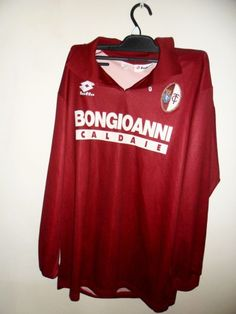 19e07c09a646 Torino 1994 1995 home shirt Large number 3 long sleeves in Sports  Memorabilia