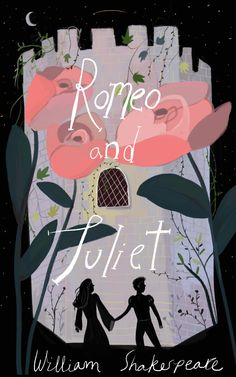 Modern Shakespeare Romeo and Juliet William Shakespeare, Shakespeare Portrait, Book Cover Design, Book Design, Romeo And Juliet Poster, Romeo Und Julia, Play Poster, Beautiful Book Covers, Graphic Design Projects
