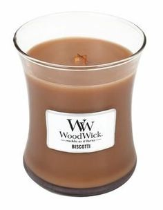 Woodwick-Biscotti Medium Candle 9.7oz
