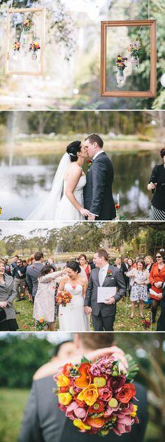 """Australische """"Alice im Wunderland"""" Hochzeit von Matthew Mead"""