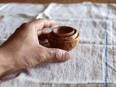 0174〜0179 丸豆鉢&だ円豆鉢 | M.SAITo Wood WoRKS