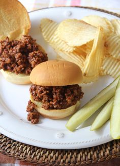 Sloppy Joes, Spiced
