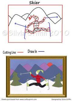 Skier Iris Folding