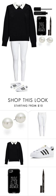 """""""Untitled #397"""" by dutchfashionlover ❤ liked on Polyvore featuring AK Anne Klein, Essentiel, adidas, Casetify, Smith & Cult, Marc Jacobs and BlackWhite"""