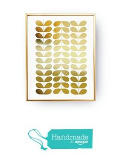 Grain Pattern Print, Abstract Print Poster, Real Gold Foil, Mid Century Modern, Gold Grain Pattern, Minimalist Poster, Home Decor. from Lovely Decor https://smile.amazon.com/dp/B01N8SWN6K/ref=hnd_sw_r_pi_dp_oPCczb93W3XQ7 #handmadeatamazon