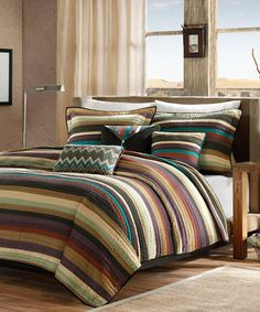 Another great find on #zulily! Tucson Quilted Coverlet Set #zulilyfinds