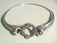 silver Indian neck ring