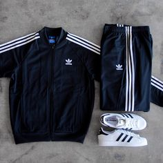 adidas Track Suit + Superstars