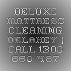 Deluxe Mattress Cleaning Delahey | Call 1300 660 487