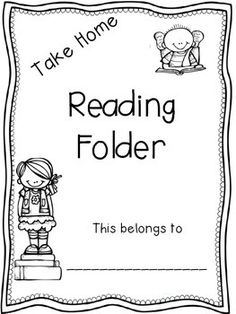 Take Home bag resources Book buddies letter to parents and