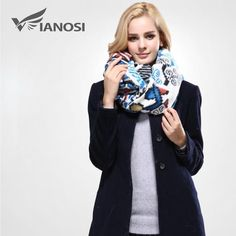 f2a165ff166f  VIANOSI  Fashion Women Scarves Winter Scarf Warm Bandana Luxury Shawls  Brand Scarf Woman Cotton Soft Wrap VA098