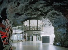 Pionen White Mountains -- Located in central Stockholm is the headquarters of Bahnhof, a Swedish Internet service provider and host with one of the coolest data centers on the planet. The data center is built into an old military nuclear bunker!