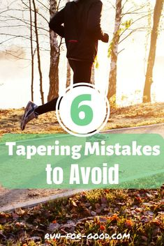 The tapering phase is a stressful time and it's easy to make mistakes. Here are six of the most common tapering mistakes with tips on how to avoid them. Running Websites, Running Tips, Beginner Running, First Marathon, Half Marathon Training, Marathon Running, Training Schedule, Training Plan, Jogging For Beginners