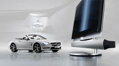 Bang & Olufsen launches BeoSound AMG Surround Sound System for the all-new Mercedes-Benz SL Speed Of Sound, Car Audio Systems, Surround Sound Systems, Bang And Olufsen, New Mercedes, Bangs, Tv, Tecnologia, Fringes