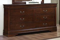 Homelegance Mayville Collection Cherry Dresser 2147-5