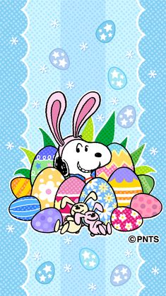 Easter with Snoopy Snoopy Images, Snoopy Pictures, Funny Pictures, Hoppy Easter, Easter Bunny, Easter Art, Ostern Wallpaper, Charlie Brown Und Snoopy, Backgrounds Wallpapers