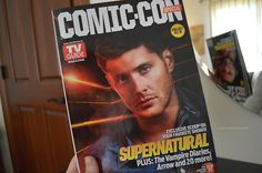 Jensen Ackles on the cover of TV Guide Magazine's Comic-Con Special
