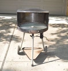 RETRO FOREMOST BBQ GRILL TABLE TOP MID-CENTURY IOB VTG ...