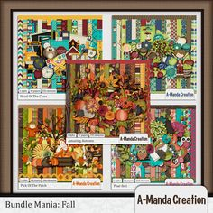 Bundle Mania: Fall   #digiscrap #theStudio