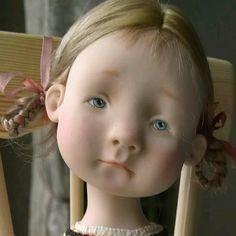 Авторская кукла Натальи Мурашовой.