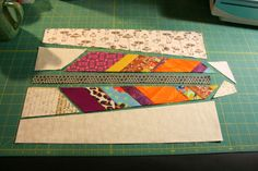Stash Bee: Hive 5 - February Block Tutorial Scrappy Quilts, Mini Quilts, Quilting Tutorials, Quilting Designs, Quilt Block Patterns, Quilt Blocks, Arrow Quilt, Southwestern Quilts, Bird Quilt