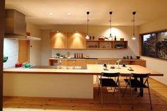 「キッチンカウンターダイニングテーブル兼用」の画像検索結果