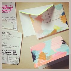 lovely watercolor cards