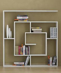 estantes de la pared para el almacenamiento de libros y decoración de la pared