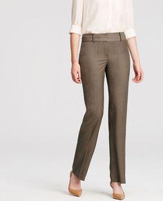Ann Pinstripe Trousers | Ann Taylor