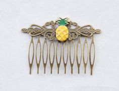 PIneapple Hair Clip Pineapple Accessories by SmittenKittenKendall