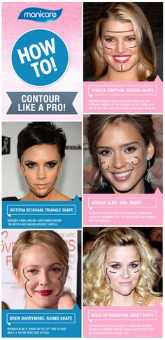 Makeup Magic: A guide to contouring for different face shapes