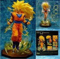DragonBall Z Childhood Kid Son Goku Gokou DBZ LBS SD GK 16cm Figure New No Box