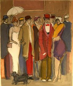 """Isaac Maimon """"After the Show"""" Original Serigraph - by Windsor Auction House Inc."""
