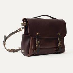 Men's Laptop Bags | Leather Briefcase - Made in France | Bleu de chauffe