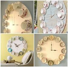 teacup wreath diy - Google Search Diy Wreath, Wreaths, Upcycled Crafts, Teacup, Fine China, Clock, Google Search, Pretty, Inspiration