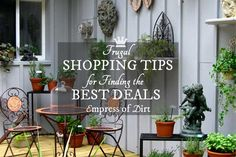 Frugal tips for how to find what you want free, cheap, or at a discounted price.