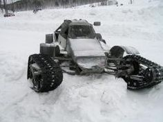 Homemade Tracked Vehicle | Tracked vehicle, 2011, during a race near Aydashki, Russia. http://www ...