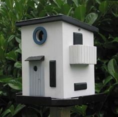 Birdhouse Design Ideas birdhouses Design Lover The Bauhaus Birdhouse