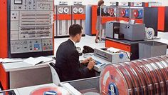 1964: IBM System 360 mainframe was announced, changing computing forever