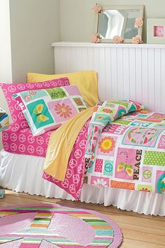 peace and love bedding