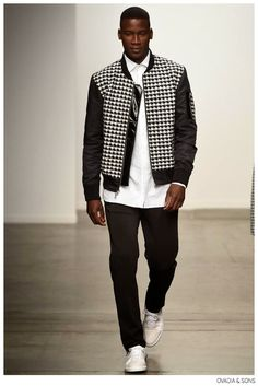 Ovadia & Sons Champions Houndstooth for Spring/Summer 2015 image Ovadia and Sons Spring Summer 2015 Collection 003