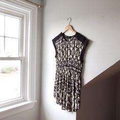 f0c8c31f8 @lisaloveslions on Depop Geometric dress (with pockets!) by Spoon jeans  Size Medium