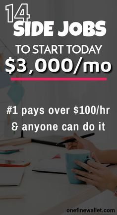 Here are 14 of the highest paying side jobs at home to make you money. Make money online with these side hustles. Make money online teens Ways To Earn Money, Earn Money From Home, Earn Money Online, Online Jobs, Money Tips, Money Saving Tips, Way To Make Money, Money Fast, Design Websites