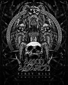 Amon Amarth: First Kill artwork