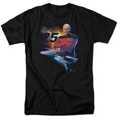 """Checkout our #LicensedGear products FREE SHIPPING + 10% OFF Coupon Code """"Official"""" Star Trek / Tng 25 - Short Sleeve Adult 18 / 1 - Star Trek / Tng 25 - Short Sleeve Adult 18 / 1 - Price: $29.99. Buy now at https://officiallylicensedgear.com/star-trek-tng-25-short-sleeve-adult-18-1"""